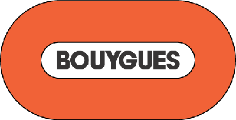 Bouygues - logo by site