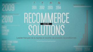Itinéraire de start-up : Recommerce Solutions