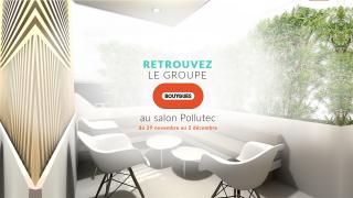 Le groupe Bouygues au salon Pollutec 2016